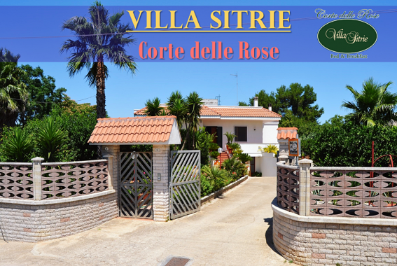 Bed and breakfast Villa Sitrie Corte delle Rose Muro Leccese